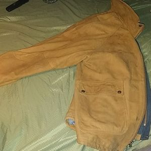 Vintage Original New River Authentic Leather Coat